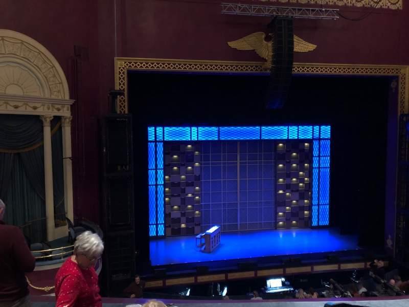 Vista sentada para National Theatre (DC) Secção Left Mezz Fila D Lugar 3