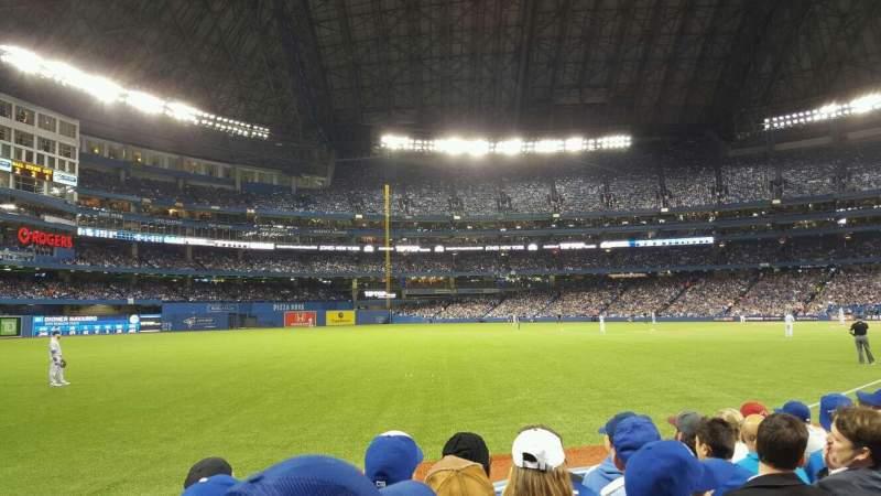 Vista sentada para Rogers Centre Secção 130DR Fila 6 Lugar 1