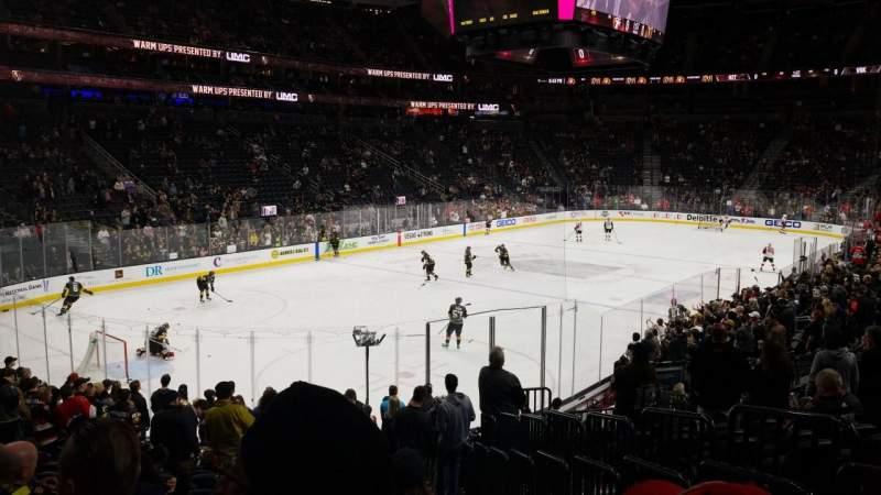 Vista sentada para T-Mobile Arena Secção 2 Fila Q Lugar 19