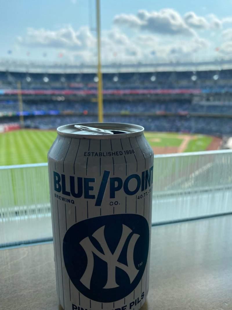 Vista sentada para Yankee Stadium Secção 127B Fila 10 Lugar 4