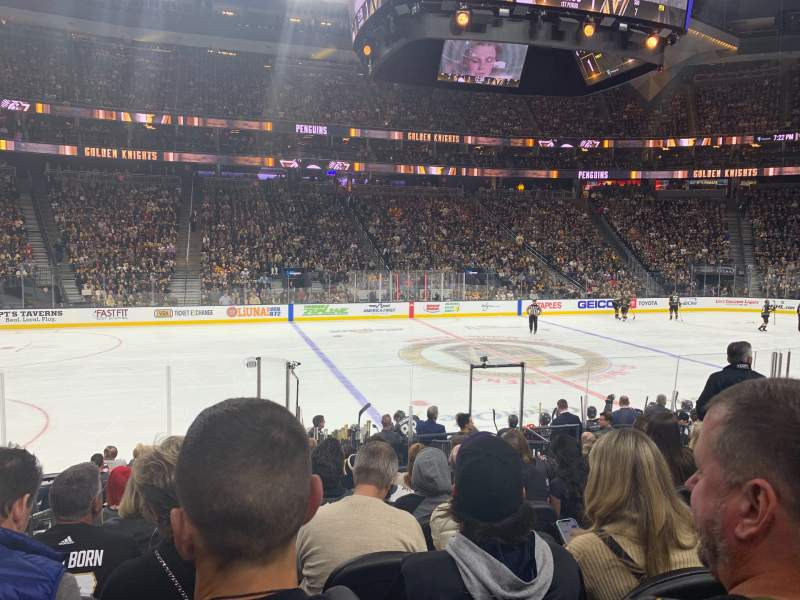 Vista sentada para T-Mobile Arena Secção 5 Fila J Lugar 2