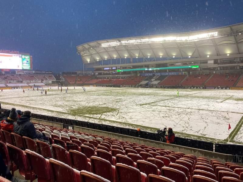 Vista sentada para Rio Tinto Stadium Secção 34 Fila M Lugar 4