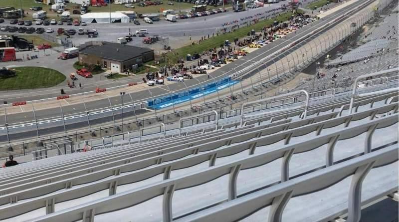 Vista sentada para Dover International Speedway Secção 120 Fila 60