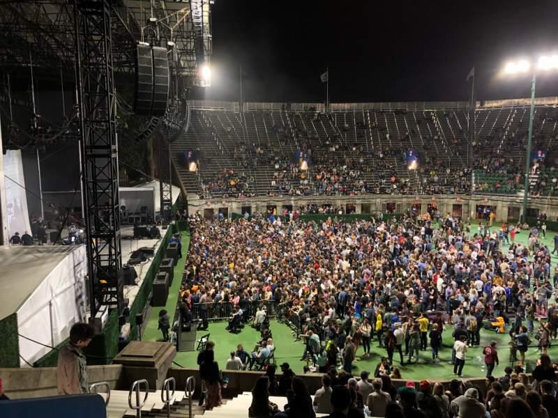 Vista sentada para Forest Hills Stadium Secção 1002LV Fila CC Lugar 8
