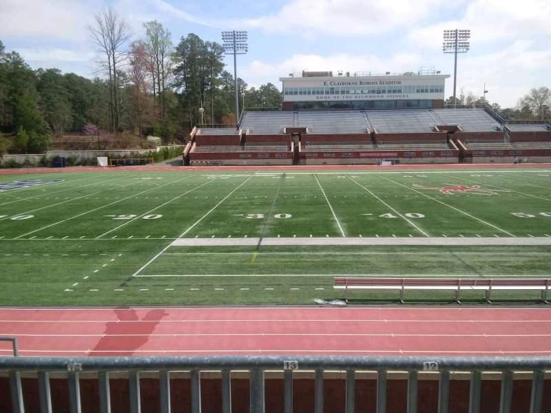 Vista sentada para Robins Stadium Secção 106 Fila E Lugar 13