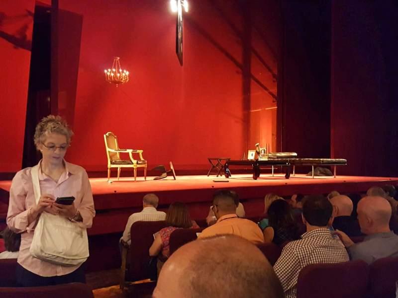 Vista sentada para Ethel Barrymore Theatre Secção Orchestra L Fila E Lugar 3