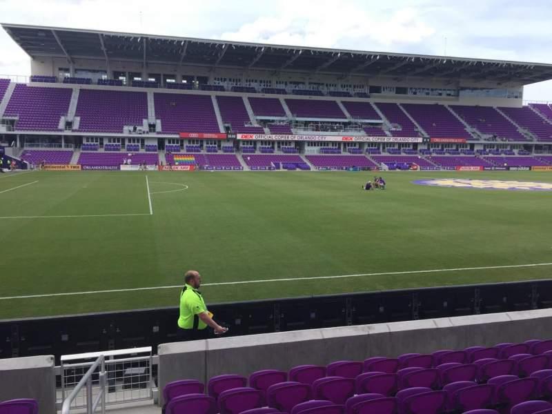 Vista sentada para Exploria Stadium Secção 36 Fila H Lugar 26
