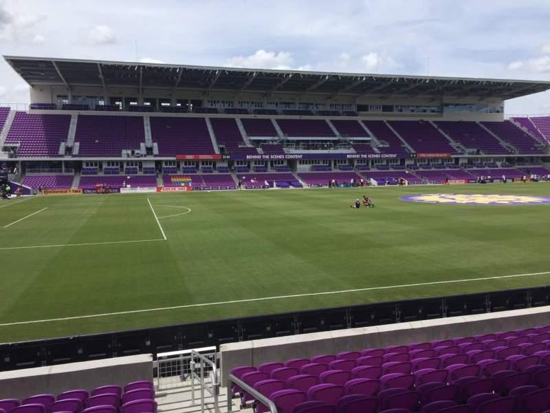 Vista sentada para Exploria Stadium Secção 37 Fila L Lugar 1