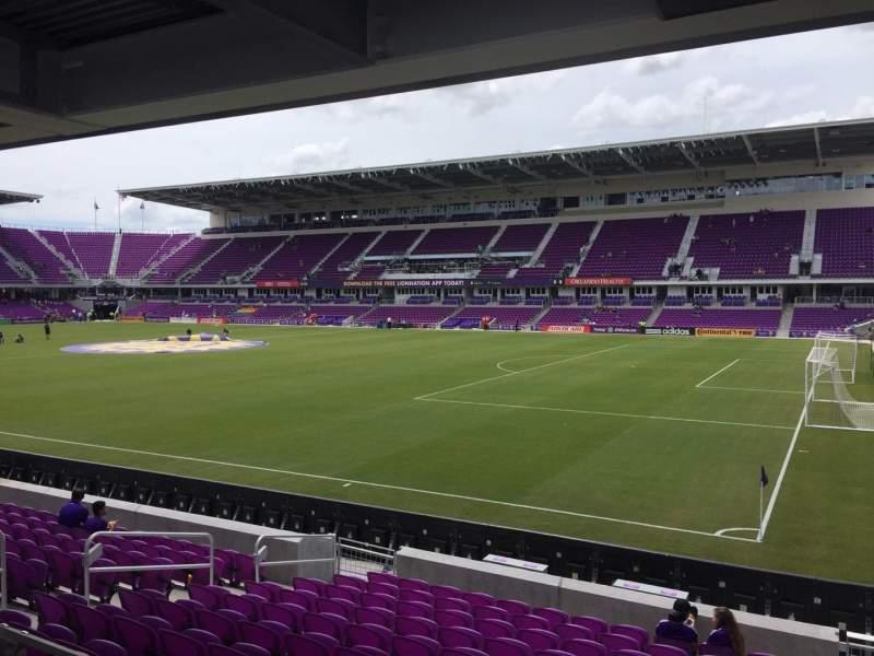Vista sentada para Exploria Stadium Secção 30 Fila M Lugar 2