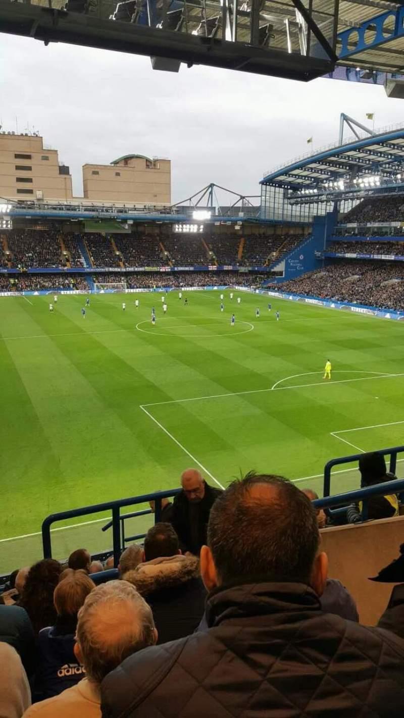 Vista sentada para Stamford Bridge Secção Matthew Harding Upper 14 Fila k Lugar 151