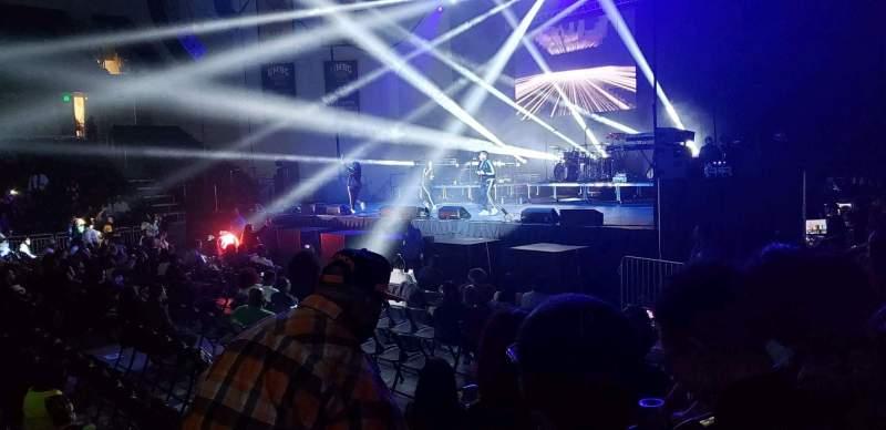 Vista sentada para UMBC Event Center Secção 108 Fila E Lugar 21