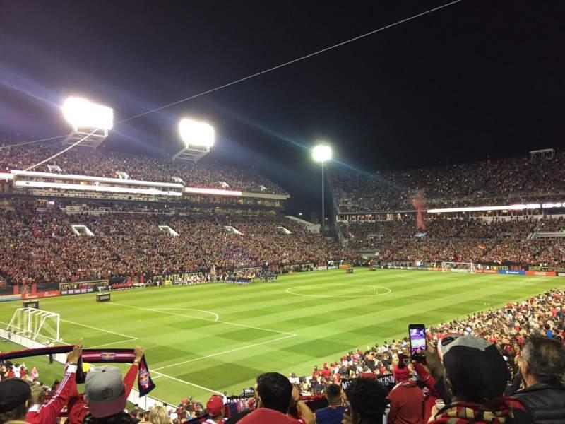Vista sentada para Bobby Dodd Stadium Secção 131 Fila 29 Lugar 10