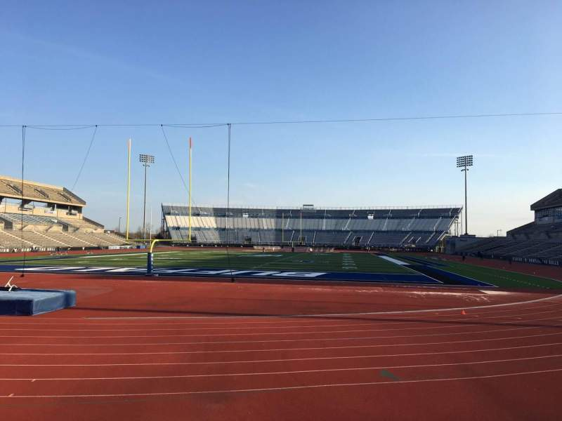 Vista sentada para UB Stadium Secção 116 Fila A Lugar 1