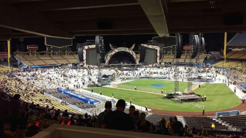 Vista sentada para Dodger Stadium Secção 111LG Fila W Lugar 4