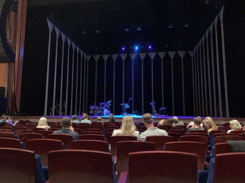 Vista sentada para Walt Disney Theatre - Dr. Phillips Center Secção ORC CTR Fila G Lugar 115