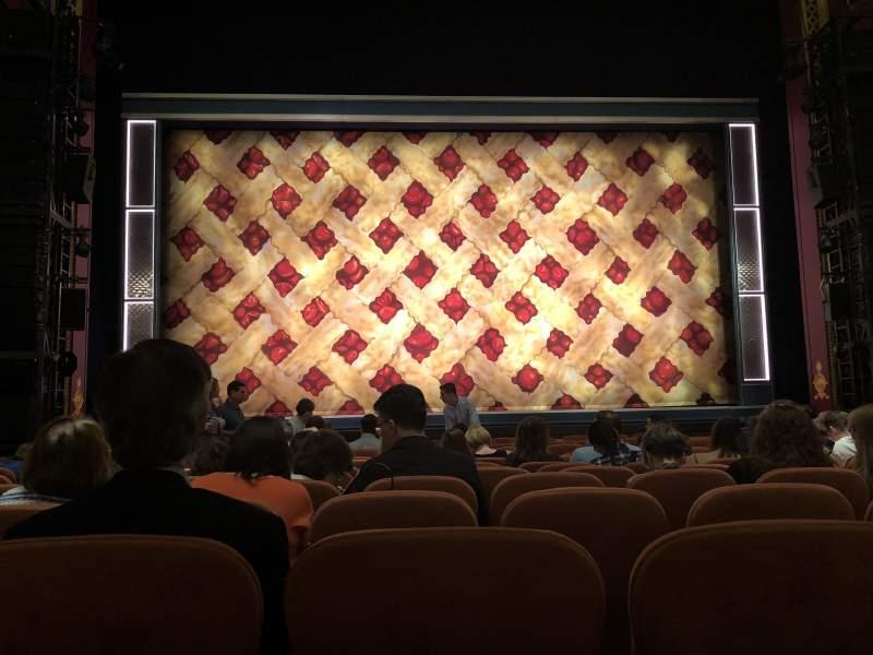 Vista sentada para National Theatre (DC) Secção Orchestra Fila M Lugar 109