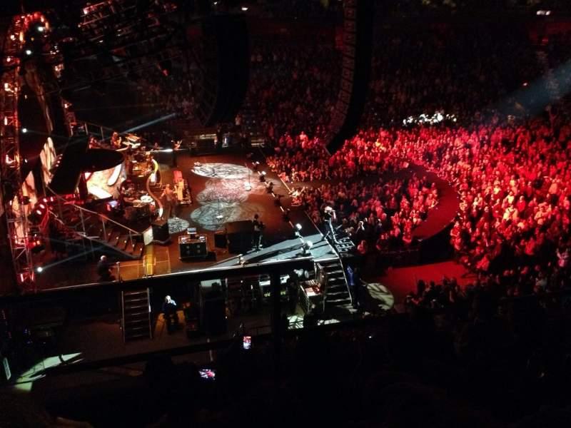 Vista sentada para Mohegan Sun Arena Secção 119 Fila E Lugar 13