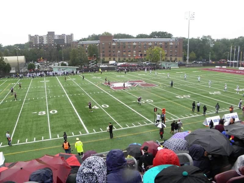 Vista sentada para Ron Joyce Stadium
