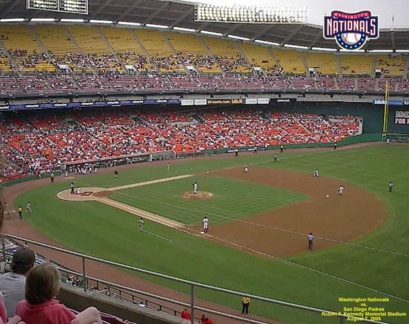 Vista sentada para RFK Stadium Secção 408 Fila 7 Lugar 5