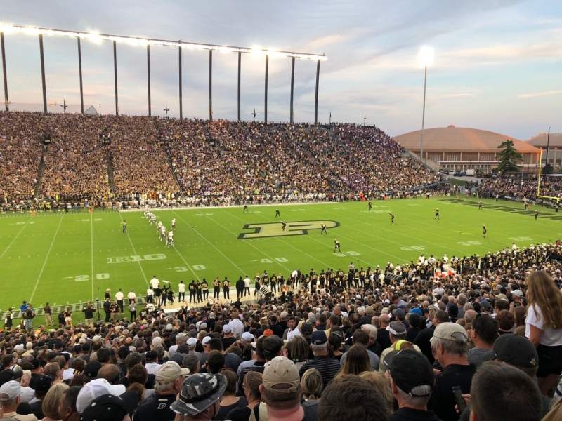 Vista sentada para Ross-Ade Stadium Secção 123 Fila 48 Lugar 5