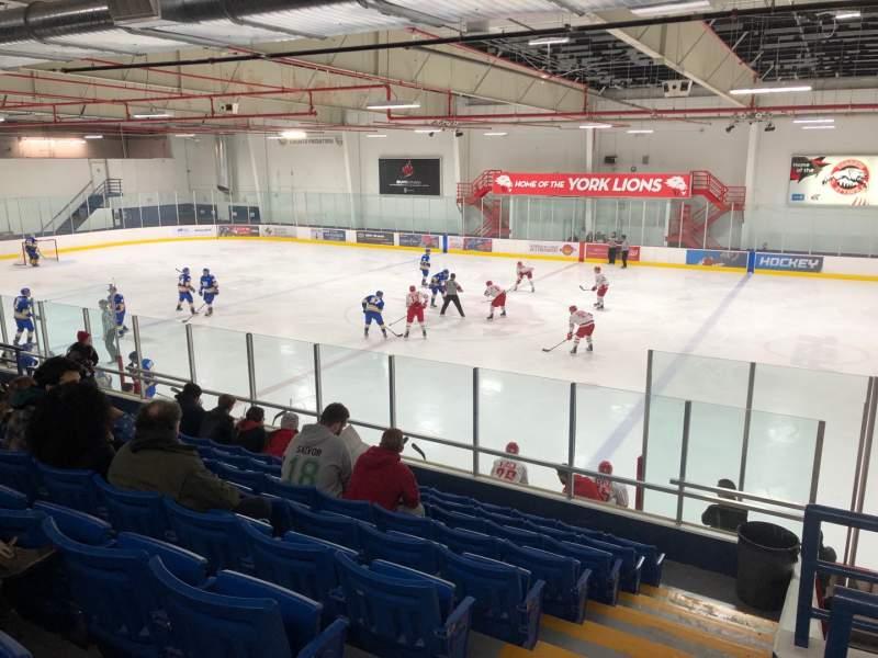 Vista sentada para Canlan Ice Sports – York