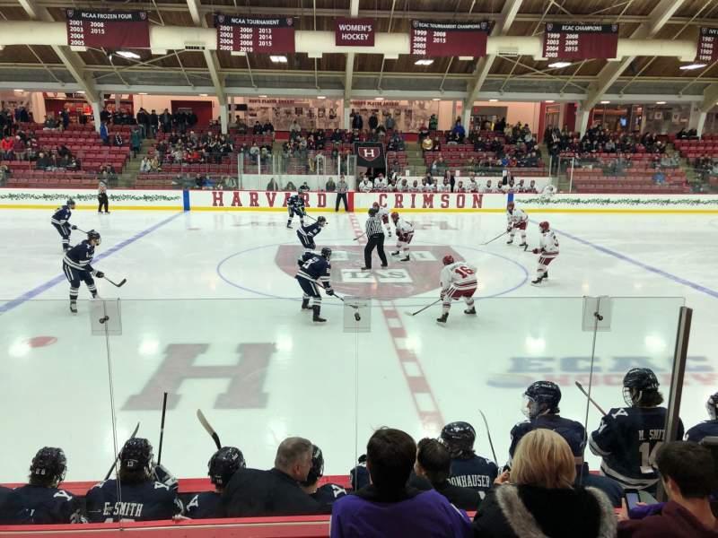 Vista sentada para Bright-Landry Hockey Center Secção 5 Fila F Lugar 10