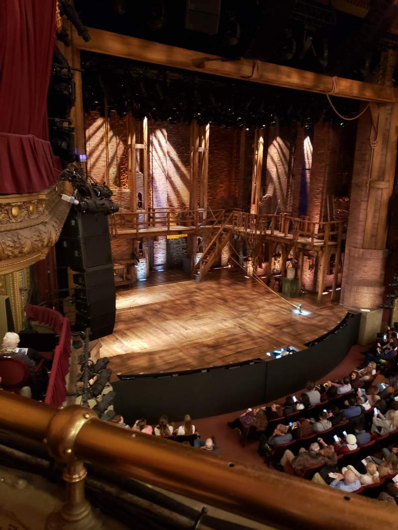 Vista sentada para CIBC Theatre Secção Mezzanine L Fila A Lugar 15