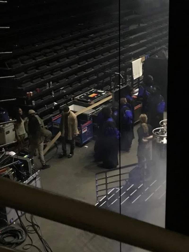 Vista sentada para Infinite Energy Arena Secção 114 Fila M Lugar 9