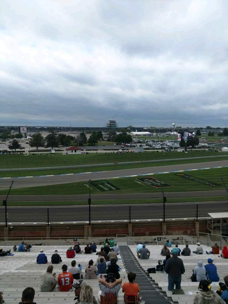 Vista sentada para Indianapolis Motor Speedway Secção 31 Fila QQ Lugar 2