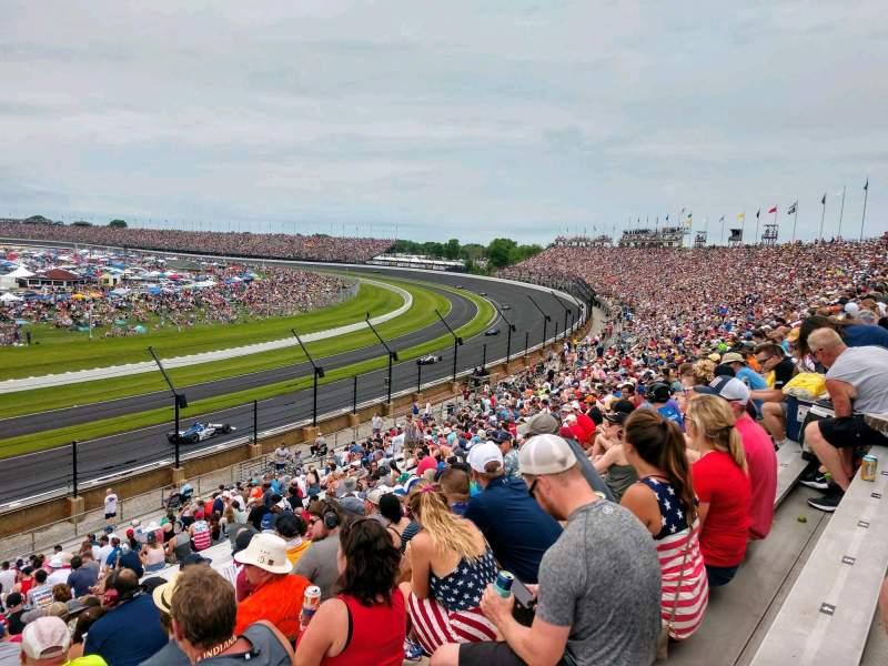 Vista sentada para Indianapolis Motor Speedway Secção 32 Fila KK Lugar 1