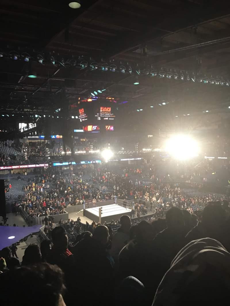 Vista sentada para Allstate Arena Secção 216 Fila q  Lugar 49