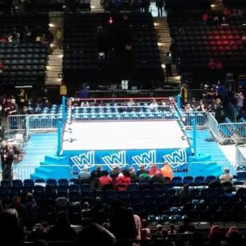 Vista sentada para Royal Farms Arena Secção 212 Fila L Lugar 1
