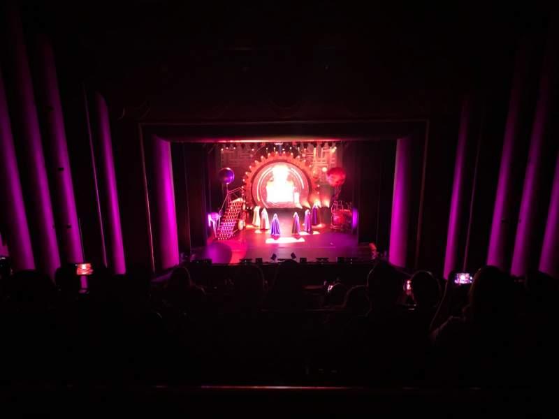 Vista sentada para Brown Theater at the Wortham Center Secção F Fila A Lugar 6