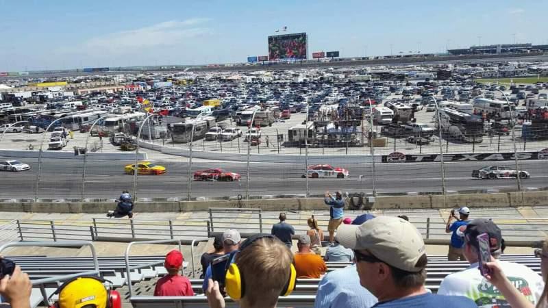 Vista sentada para Texas Motor Speedway Secção 137 Fila 25 Lugar 3