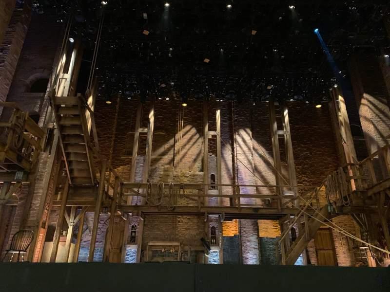 Vista sentada para CIBC Theatre Secção Orchestra C Fila D Lugar 104