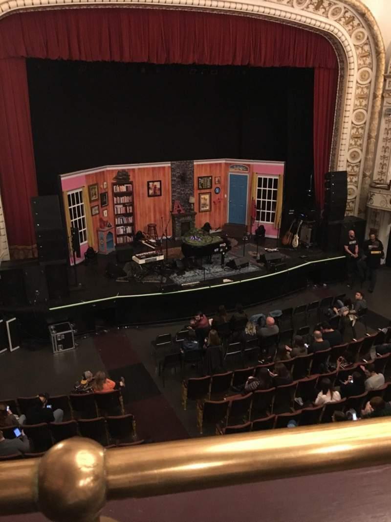 Vista sentada para Palace Theatre (Greensburg) Secção LOGE LEFT Fila AA Lugar 4