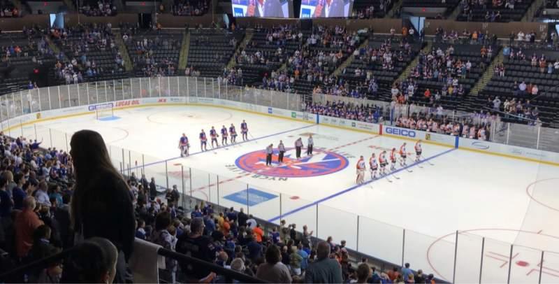 Vista sentada para Nassau Veterans Memorial Coliseum Secção 239 Fila 5 Lugar 10