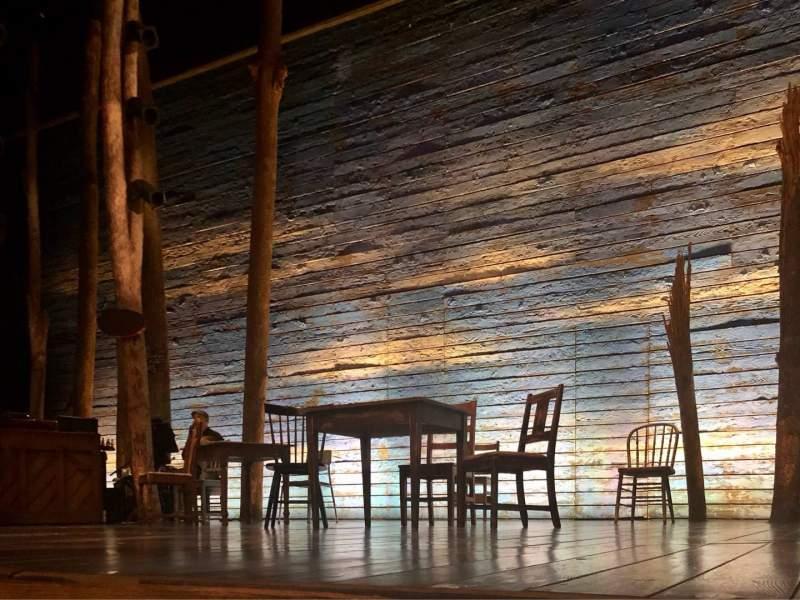 Vista sentada para Gerald Schoenfeld Theatre Secção Orchestra C Fila AA Lugar 114