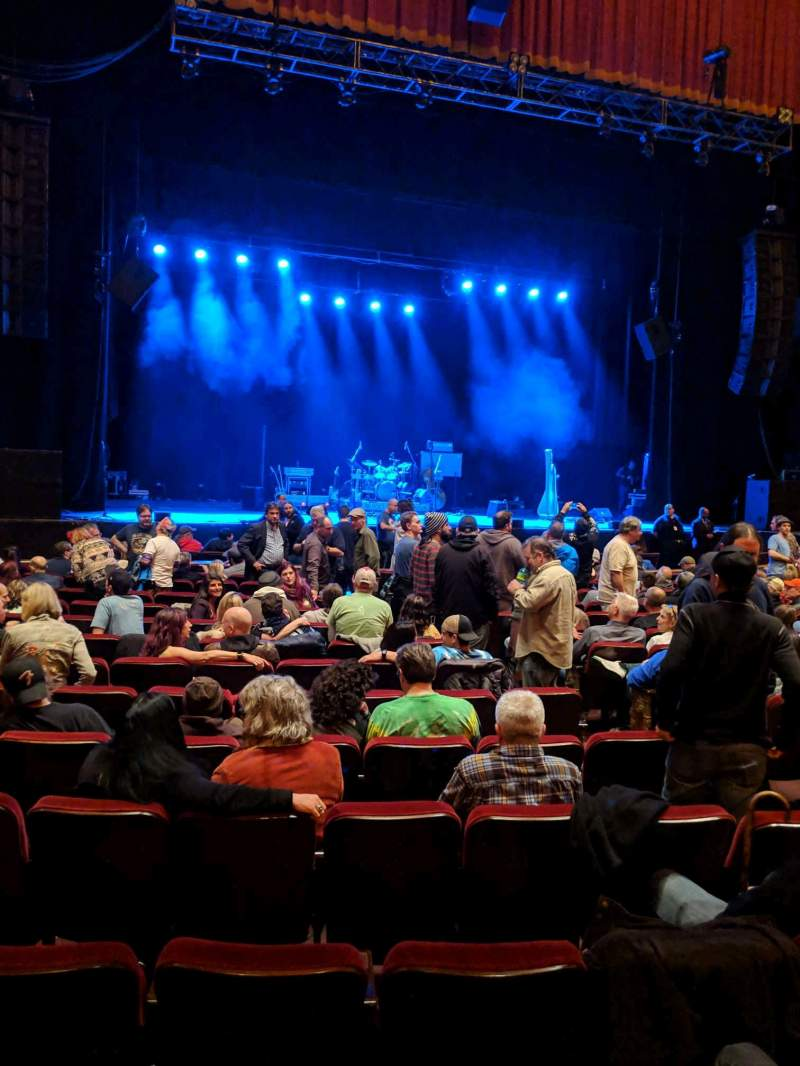 Vista sentada para Shea's Buffalo Secção Orchestra 4 Fila P Lugar 11