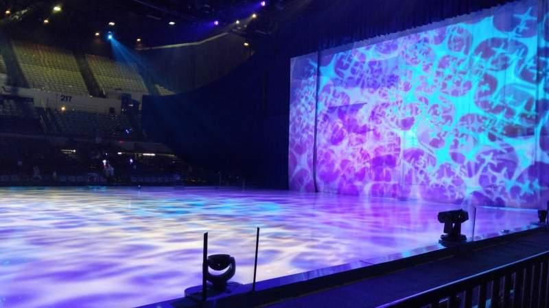 Vista sentada para Long Beach Arena Secção 12 Fila BB Lugar 1