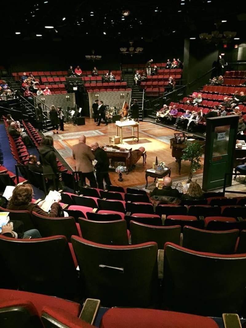 Vista sentada para Circle in the Square Theatre Secção Orchestra 100 (Odd) Fila H Lugar 119