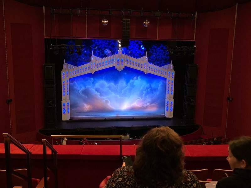 Vista sentada para The Kennedy Center Opera House Secção First Tier Fila E Lugar 216