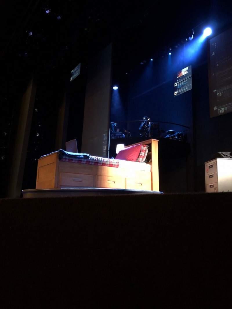 Vista sentada para Music Box Theatre Secção Orchestra R Fila A Lugar 6