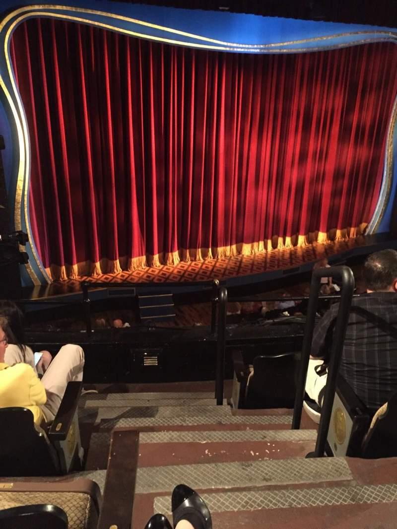 Vista sentada para Studio 54 Secção Front Mezzanine L Fila DD Lugar 1