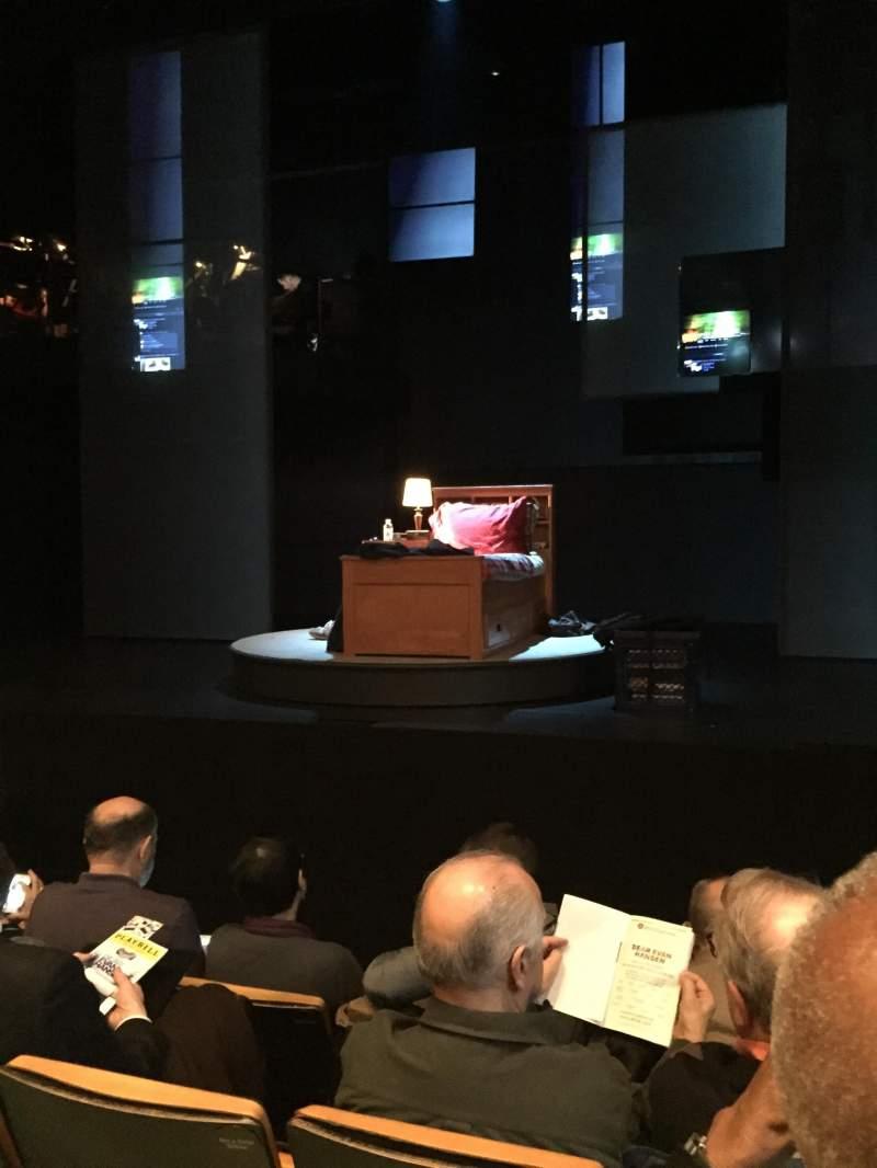 Vista sentada para Tony Kiser Theatre Secção Orchestra Fila D Lugar 110