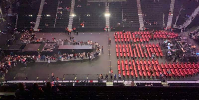 Vista sentada para Little Caesars Arena Secção 226 Fila 10 Lugar 9