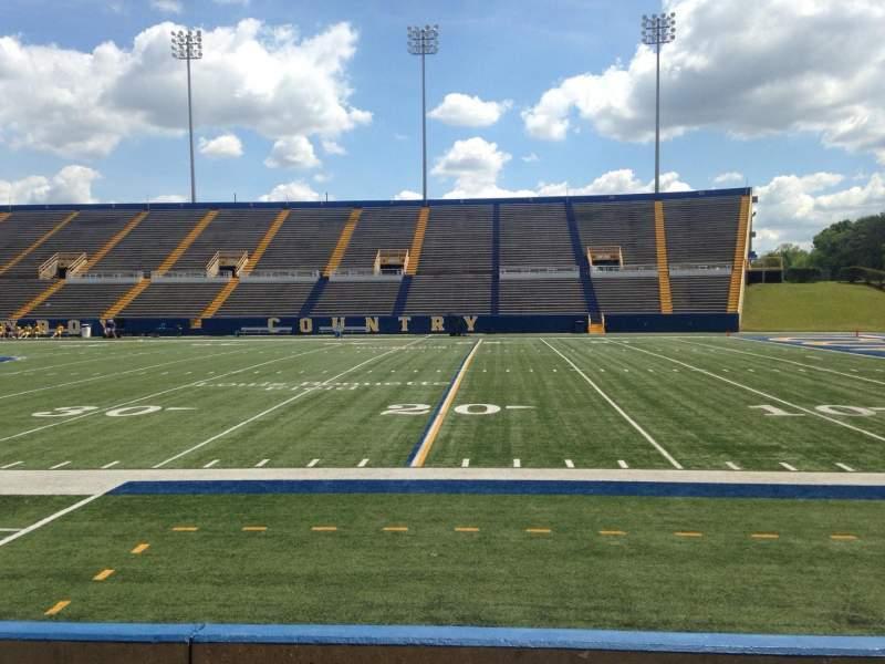 Vista sentada para Cowboy Stadium Secção I Fila 5 Lugar 17