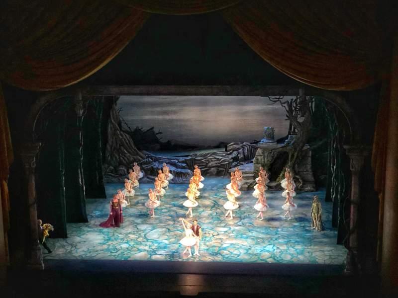 Vista sentada para Metropolitan Opera House - Lincoln Center Secção Balcony Fila B Lugar 110