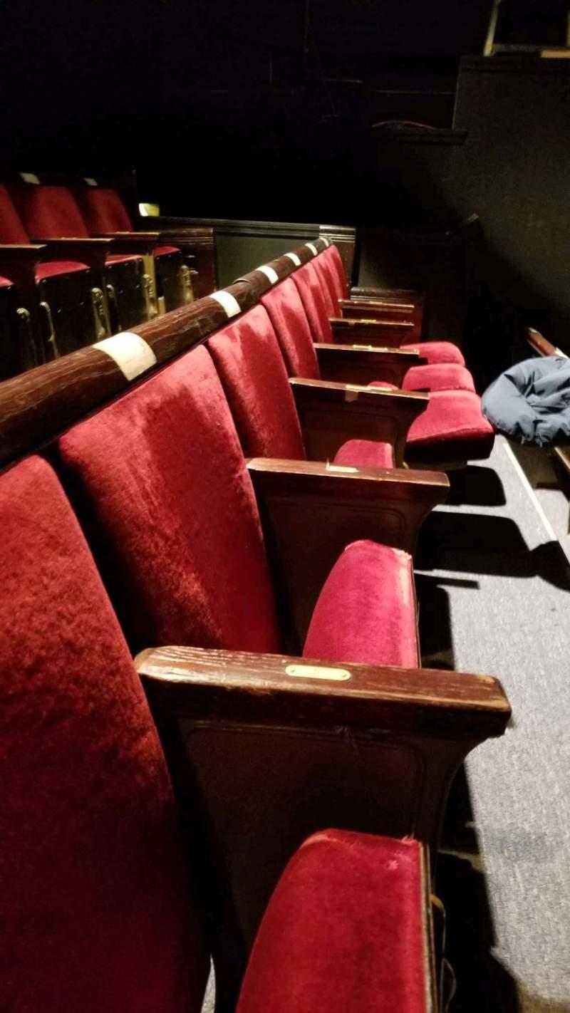 Vista sentada para West End Theatre (New York)