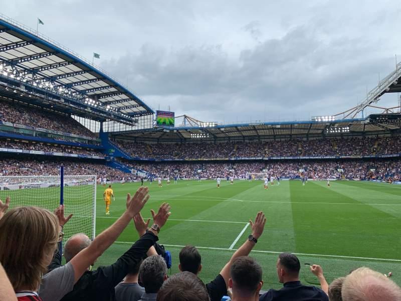 Vista sentada para Stamford Bridge Secção Shed End Lower 3 Fila 8 Lugar 87
